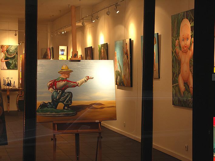 galerie vitrine