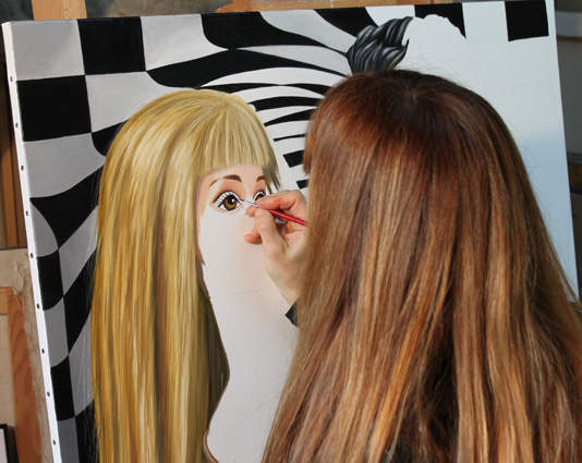 le baiser en cours 1