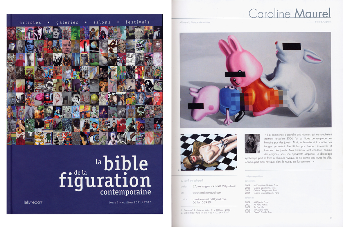 Bible Figuration contemporaine