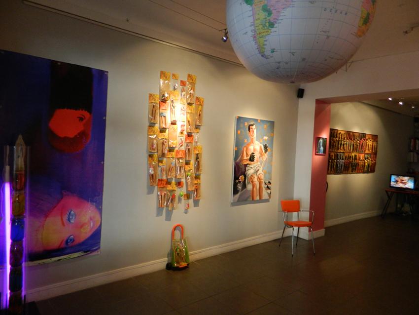 La marguerite Galerie Andiamo Caroline Maurel 2013