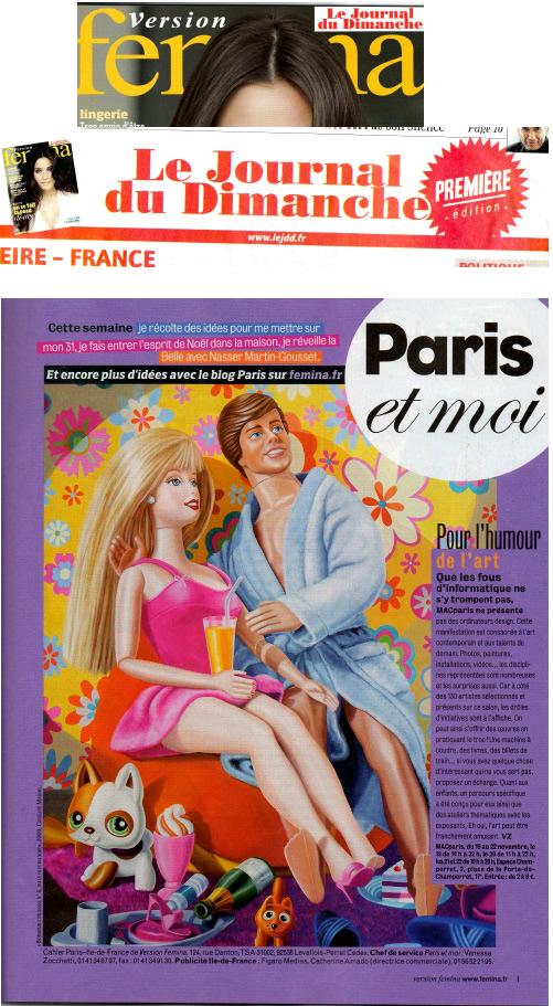Journal du dimanche femina nov 2009