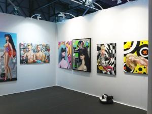 ART G Bordeaux, septembre 2014, avec la Galerie ARTOP