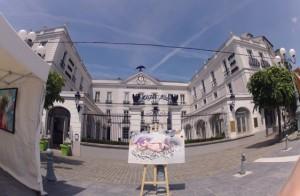 Expo en plein air à Fontainebleau avec la Galerie 17.ARTS