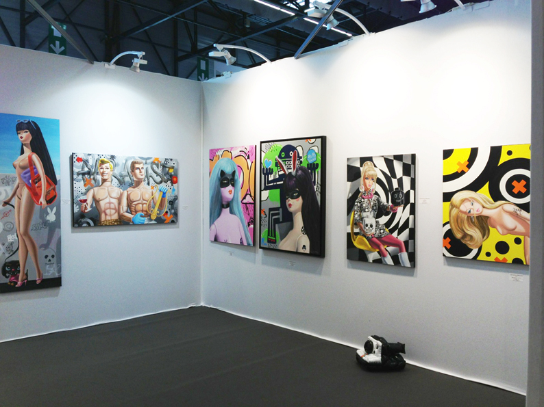 Art3G Caroline Maurel stand