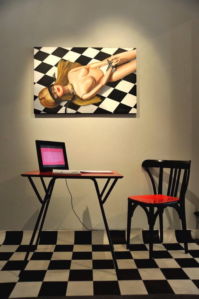 le bandeau galerie Andiamo Caroline Maurel 2013
