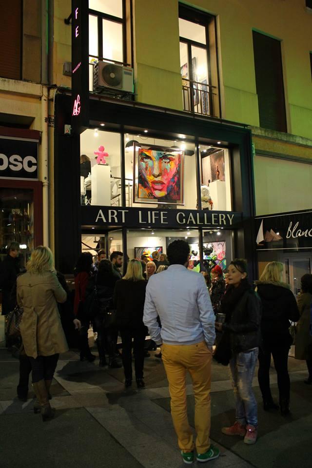 vernissage art life gallery st raphael