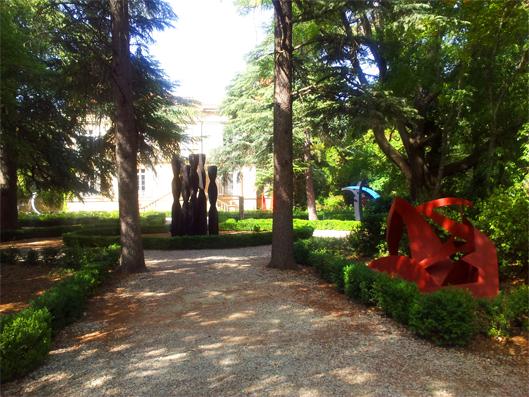 Chateau de Bosc Caroline Maurel jardins