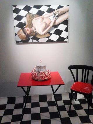 Galerie Andiamo Caroline Maurel Le bandeau