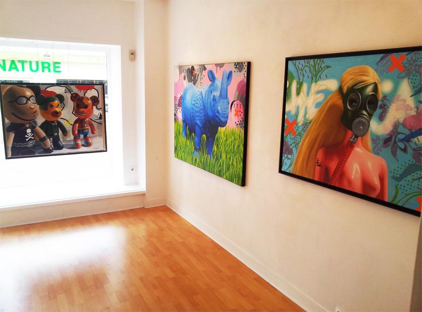 Galerie Touchefeu Caroline Maurel 2