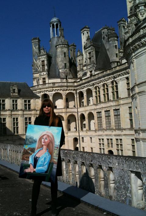 Mona lisa à Chambord